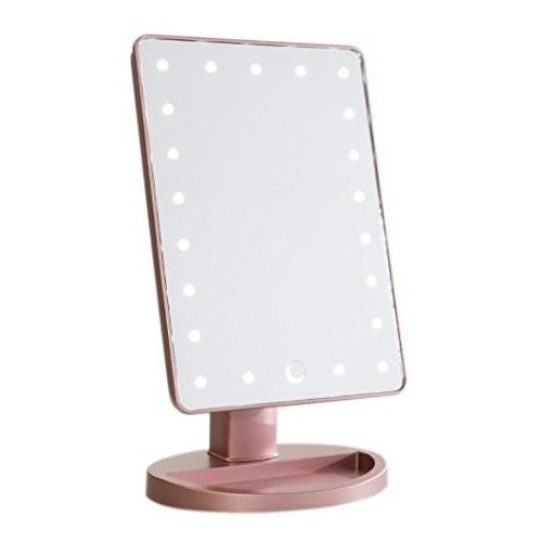 Touch 2.0 Dimmable LED Makeup Mirror in Matte (Rose G