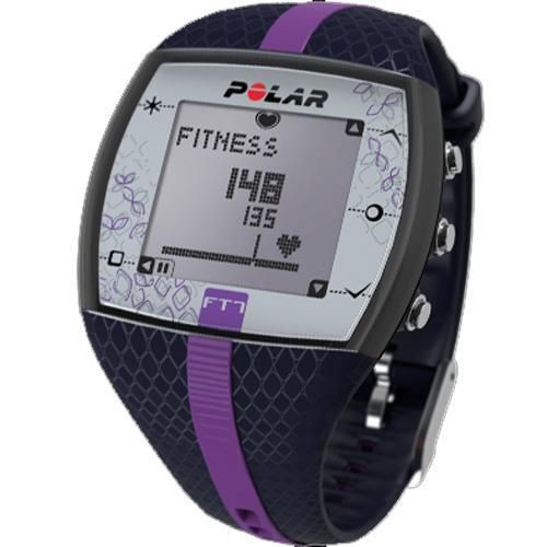 Polar FT7F Heart Rate Monitor, Blue/Lilac, 1 ea