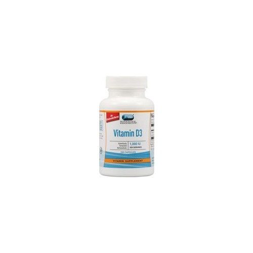 Nutraceutical Sciences Institute  NSI Vitacost Vitamin D3 (as Cholecalciferol) -- 1000 IU - 200 Capsules