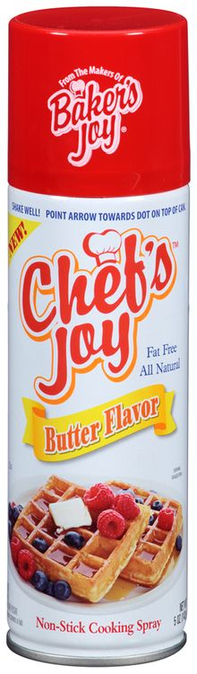 Chef's Joy™ Butter Flavor Non-Stick Cooking Spray