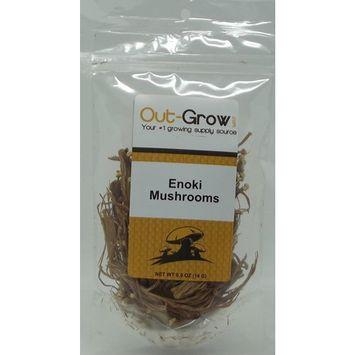 Dried Enoki Mushrooms