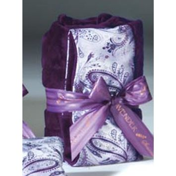 Sonoma Lavender Heat Wrap - Silver Paisely
