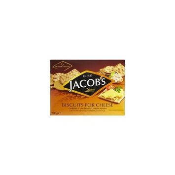 Jacobs Biscuits For Cheese 200g by Jacob's