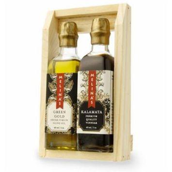 Melina's Vinegar Mini Gift Set, Green Gold and Kalamata