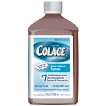 Colace Docusate Sodium Stool Softener, 100mg