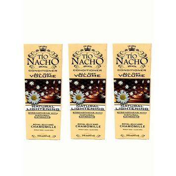 Set of 3 Tio Nacho All Day Volume Natural Lightening Conditioner 14 Fl. Oz 650240016141
