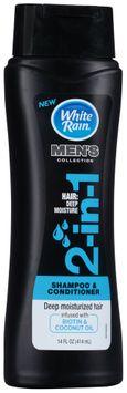 White Rain® Men's Collection in Deep Moisture Shampoo & Conditioner
