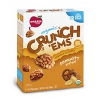 Revolution Foods Crunchems Peanutty Pretzel Snacks (6x5)