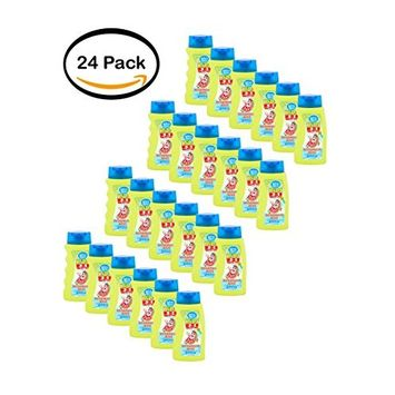 PACK OF 24 - White Rain Kids Watermelon Wave 3 in 1 Shampoo, Conditioner and Body Wash, 12 fl oz