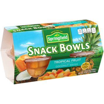 Springfield® Tropical Fruit Snack Bowls