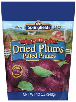 Springfield Large Pitted Prunes Dried Plums