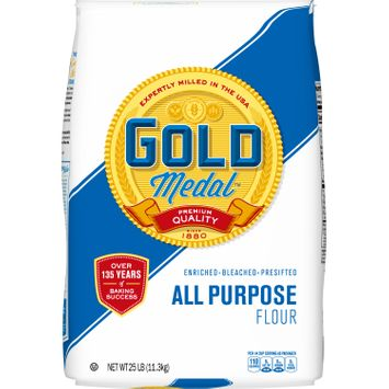 Gold Medal All-Purpose Flour, 25 lb