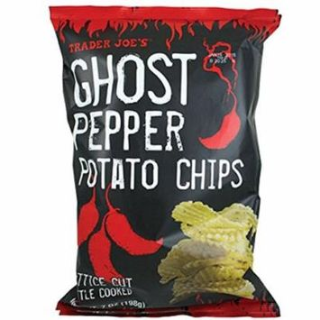 Trader Joe's Ghost Pepper Potato Chips - 7 oz. bag