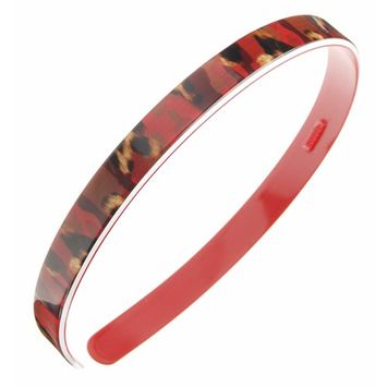 France Luxe 1/2 Ultracomfort Headband - Jungle Red