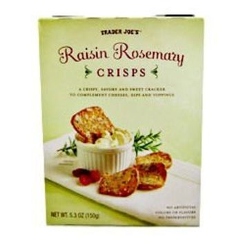 Trader Joe's Raisin Rosemary Crisps