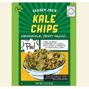 Trader Joe's Kale Chips 2 Oz. Resealable Bag