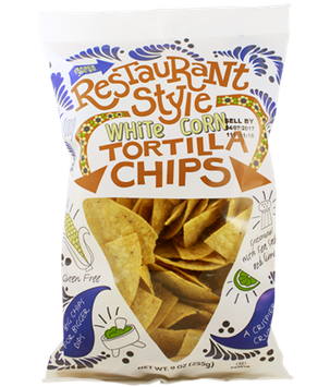 Trader Joe's Restaurant Style White Corn Tortilla Chips