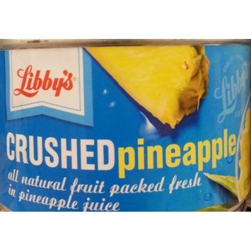 Libby's Crushed Pineapple in Pineapple Juice 8 Oz (Pack of 6)