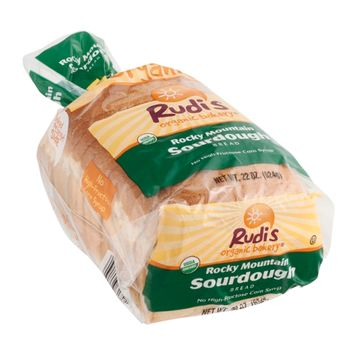 Rudi's Organic Bakery Bread Rocky Mountain Sourdough