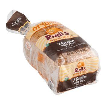 Rudi's Organic Bakery Bread 7 Grain with Flax