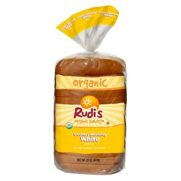 Rudi's Organic Country Morning White Bread 22oz