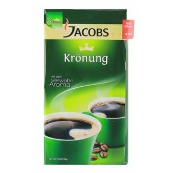 JACOBS KROENUNG GROUND COFFEE 500 G / 17.6 OZ IN VACUUMED PACK - PACK OF FOUR (4), TOTAL 2 KG