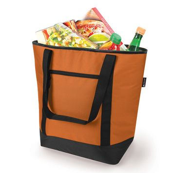 50 Can Insulated Cooler Tote, Rustic G