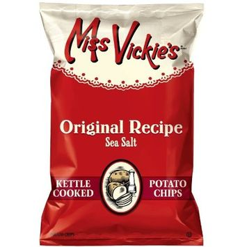 Miss Vickie's 1.3 Ounce Simply Sea Salt Potato Chips (Pack of 30)