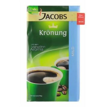 Jacobs Kronung 2 Pack of Mild Ground Coffee 17.6oz/500g