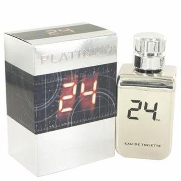 24 Platinum The Fragrance Jack Bauer by ScentStory,Eau De Toilette Spray 3.4 oz, For Men