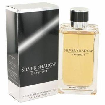 Silver Shadow by Davidoff,Eau De Toilette Spray 3.4 oz, For Men