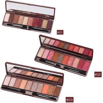 Alonea Eye Shadow, Makeup Pearl Metallic Eyeshadow Palette Makeup Professional Eye Glitter Shimmer 10 Color 3 Pack