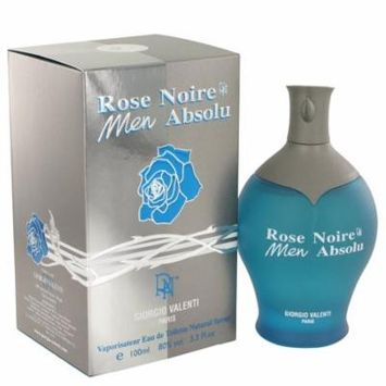 Rose Noire Absolu by Giorgio Valenti,Eau De Toilette Spray 3.4 oz, For Men