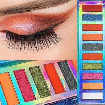 Alonea Shimmer Matte Eyeshadow, Shimmer Pearlescent Eye Shadow Powder Palette Matte Eyeshadow Cosmetic Makeup