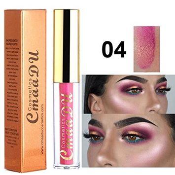 Liquid Eyeliner, Alonea Glitter Liquid Eyeliner Eye Shadow Shining Eye Cosmetics 12 Colors