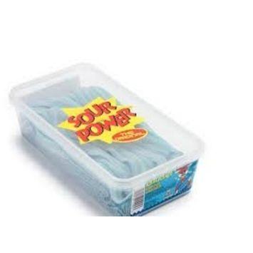 Dorval Berry Blue Sour Power Candy Belts 150 pieces