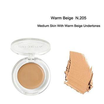 Alonea Highlighter Contour Palette, Face Makeup Concealer Foundation Palette Creamy Moisturizing Concealer