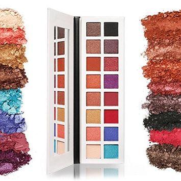 Alonea Shimmer Matte Eyeshadow, Shimmer Pearlescent Eye Shadow Powder Palette Matte Eyeshadow
