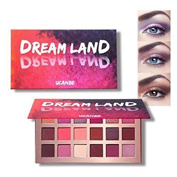 Alonea Shimmer Eyeshadow Palette, Cosmetic Eye Shadow Makeup Pearl Metallic Eyeshadow Palette Makeup 18 Colors