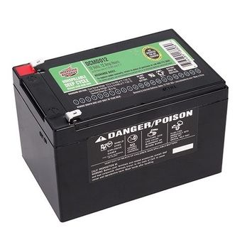FAST 2-DAY SHIPPING AVAILABLE - DCM0012 - Battery 12 volt 12 AH - Interstate Battery 12v 12 amp - 656489188069
