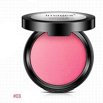 Fenleo Long-wearing Waterproof Eye Shadow Blush Palette Face Makeup Baked Cheek Color Blusher Professional