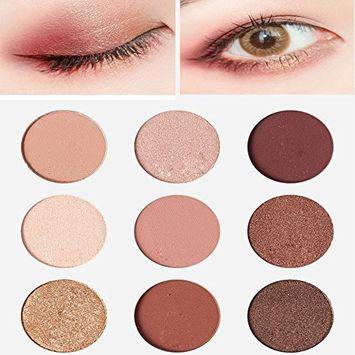 Alonea Shimmer Eyeshadow Palette, Women Eyeshadow Shimmer Palette Makeup 9 Colors