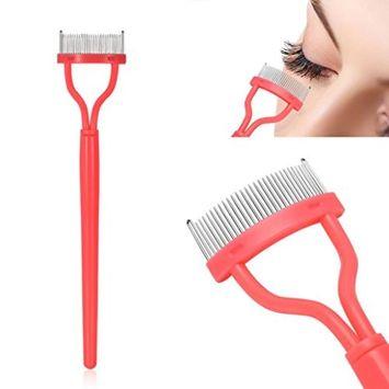 Alonea Eyelash Comb, Eyelash Comb Curlers Makeup Mascara Applicator Eyebrow Grooming Brush Tool