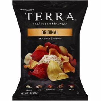 2 Pack - Terra Real Vegetable Chips, 1 oz bags, Original with Sea Salt 24 ea