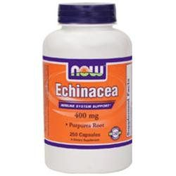 NOW Foods - Echinacea Purpurea Root 400 mg. - 250 Capsules