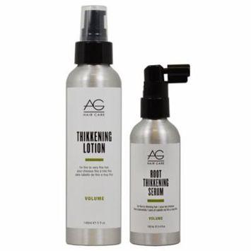 AG Hair Volume Thikkening Lotion 5oz + Root Thikkening Serum 3.4oz SET
