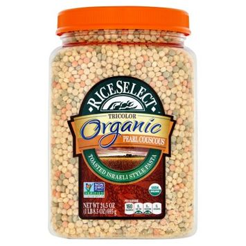 Riviana Foods, Inc. Riceselect, Couscous Prl Tri Clr Org, 24.5 Oz (Pack Of 4)