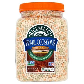 Riviana Foods, Inc. Riceselect, Couscous Pearl Tri Color, 24.5 Oz (Pack Of 4)