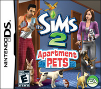 Electronic Arts The Sims 2 Apartment Pets (Nintendo DS)