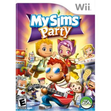 Electronic Arts My Sims Party Wii Game EA